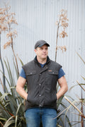 Warm, Waterproof Work Vest KC6036 up to 6XL
