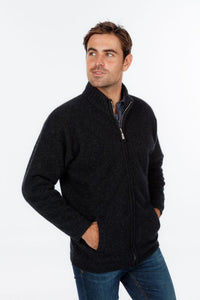 Felted Zip Jacket with Pockets KC029