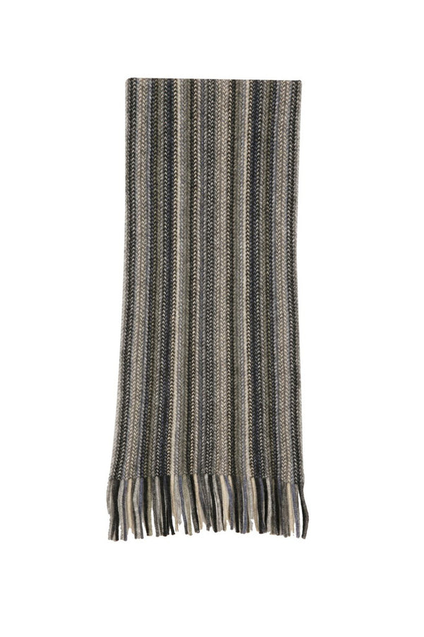 Multi Striped Scarf KC378