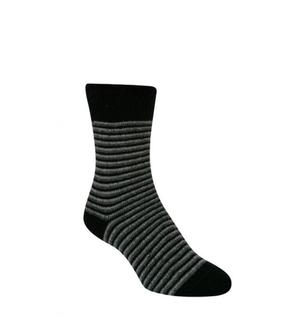 Striped Ladies Dress Socks KC458