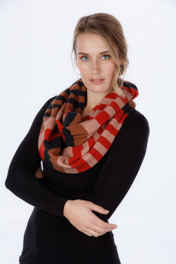 4 Tone Endless Scarf/ Snood KC694