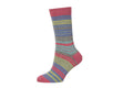 Ladies Striped Socks KC731