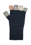 Multi Coloured Fingerless Glove KC812