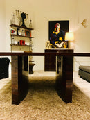 High gloss CEO desk diningtable
