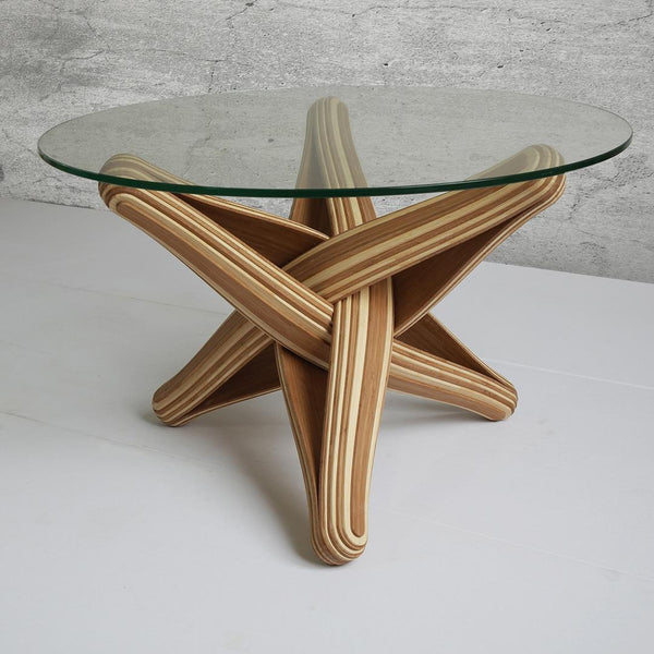 """Lock""  bamboo coffeetable"