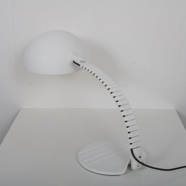 Tweedehands design 1970s Snake table lamp by Elio Martinelli for Martinelli, Italy