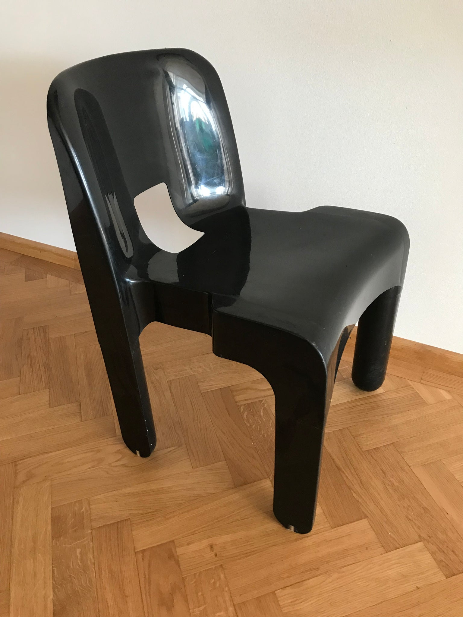 Tweedehands design 4x Joe Colombo Kartell  Stoelen