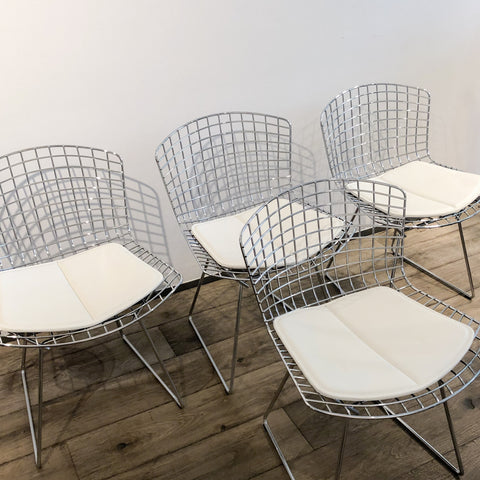 4x Original Knoll Bertoia side chairs