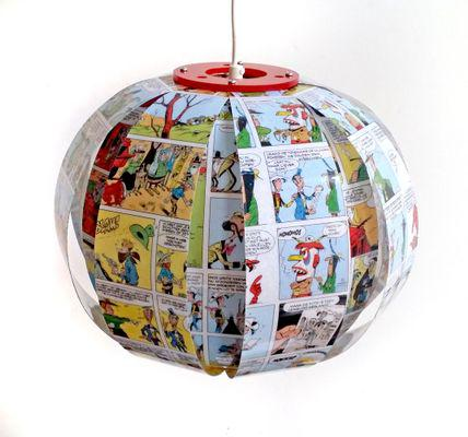 Lucky Luke Comic Lamp