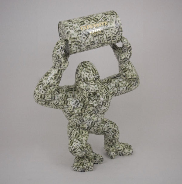 King Kong Dollar Sculpture