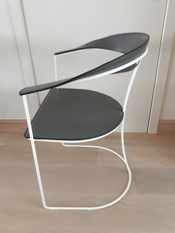 Tweedehands design 8x Arrben Ursula Chairs Italian Design