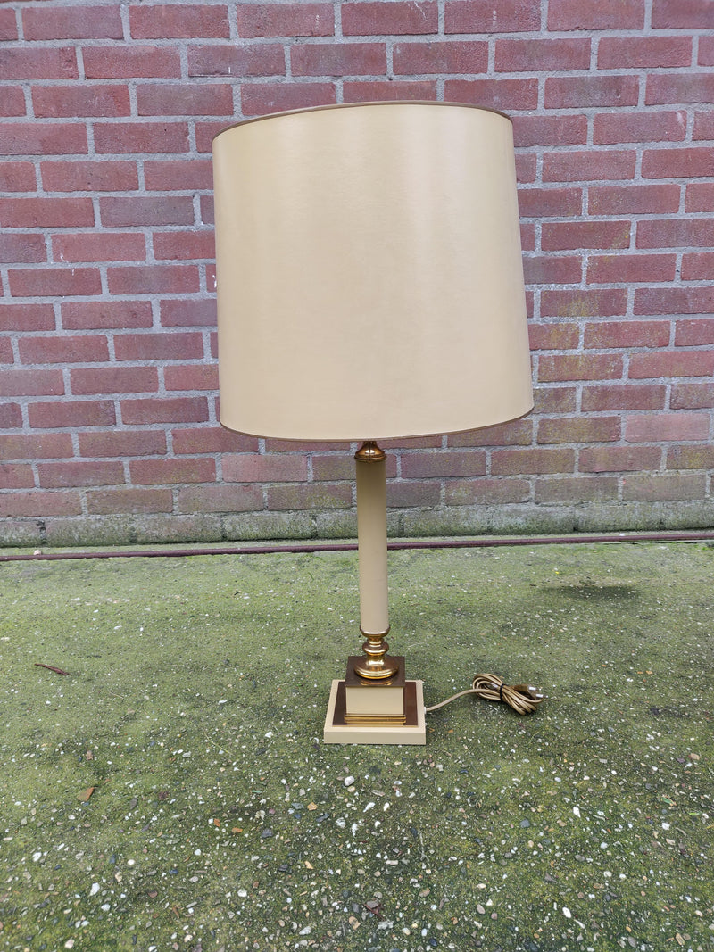 Hollywood regency zuil tafel lampen