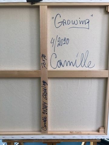 Camille A Janssen Growing