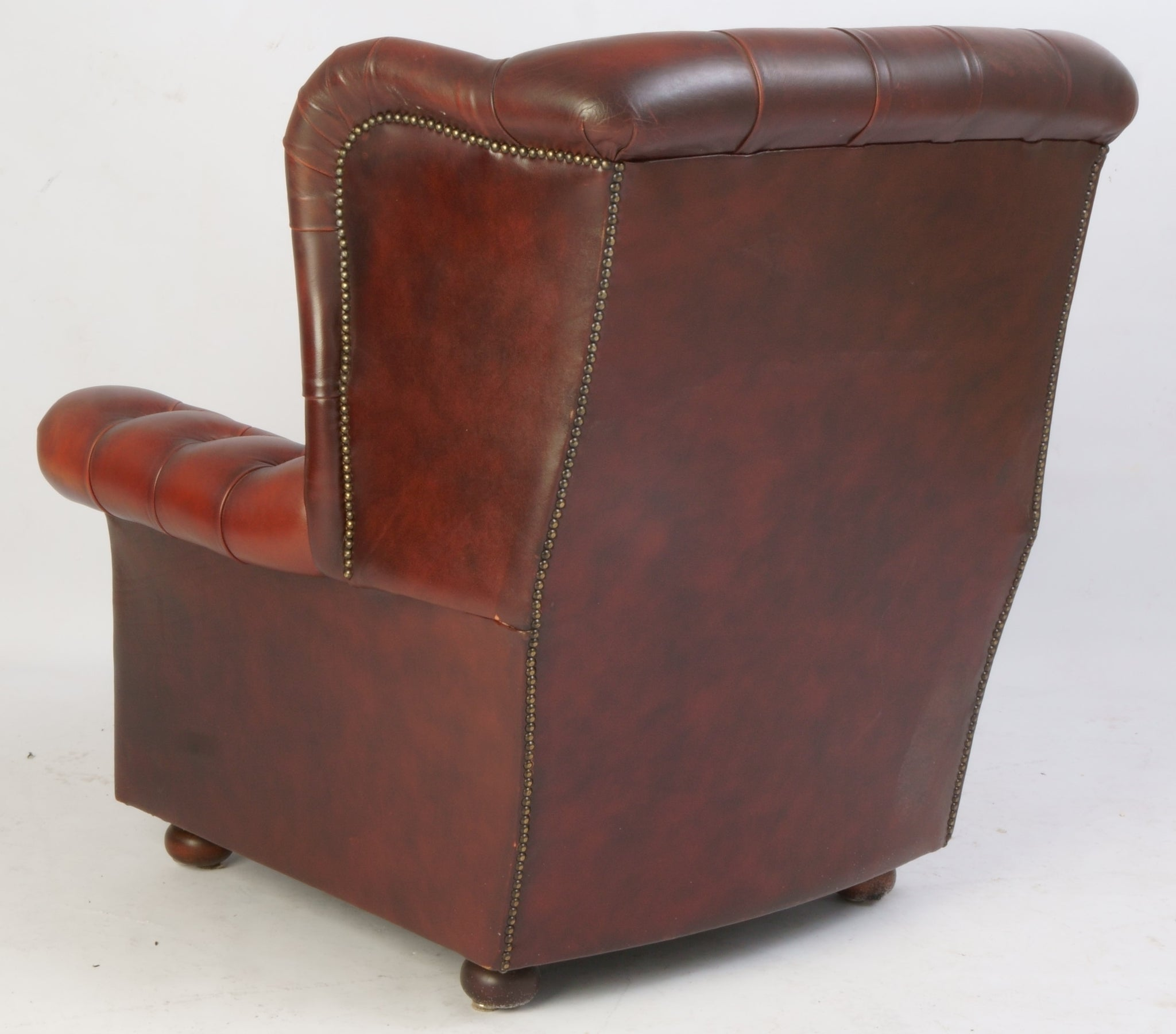 Tweedehands design Chesterfield wingchair