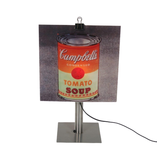 "1999 ""Copylight"" table lamp designed by Gerhard Trautmann, manufactured by Brainbox in Germany"