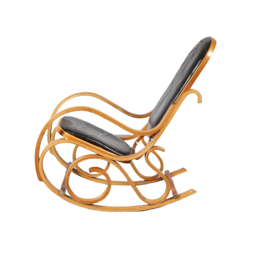 Luigi Crassevig plywood rocking chair