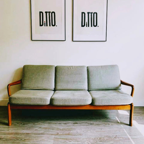 Danish design sofa