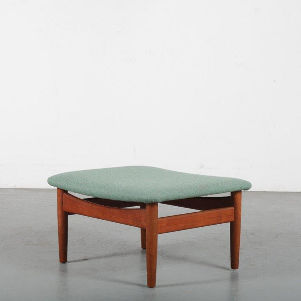 Tweedehands design Finn Juhl for France & Son, Danish Ottoman 1950s