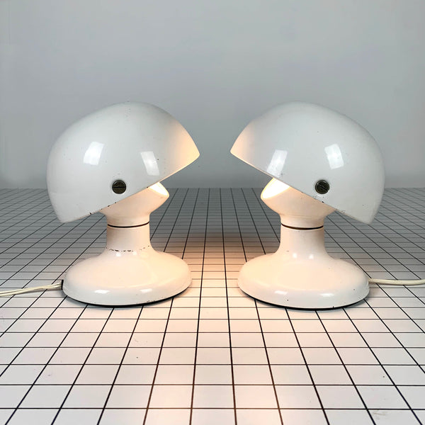 Tweedehands design Flos, Pair of White Scarpa Lamp