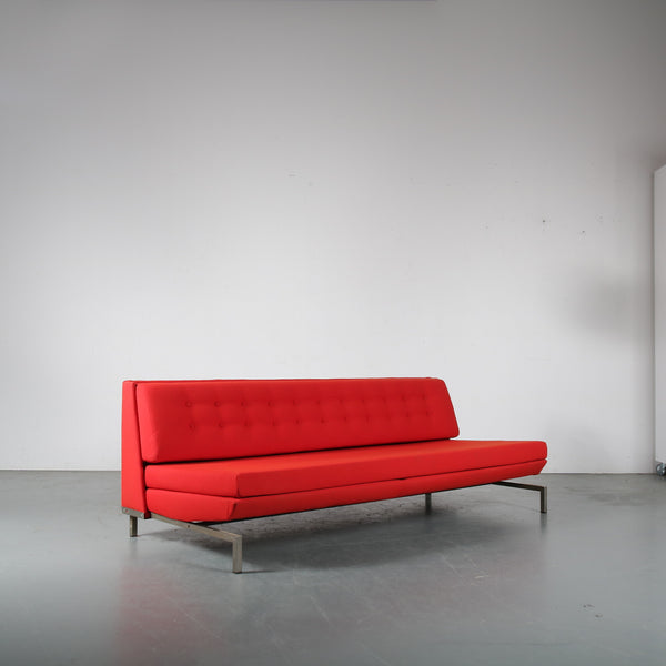 Tweedehands design George van Rijk for Beaufort, 1960s Sleeping sofa, Belgium