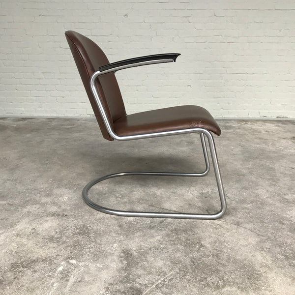 Tweedehands design Gispen Lounge chair 413