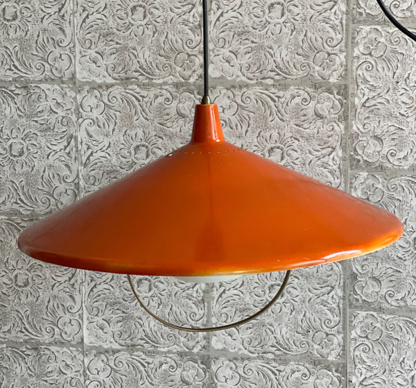 Tweedehands design Gispen Vintage design hanglamp
