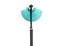 Tweedehands design Glass Bowl Italian Floor Lamp