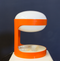 Tweedehands design Joe Colombo for Kartell, Rare Orange KD29 Table Lamp