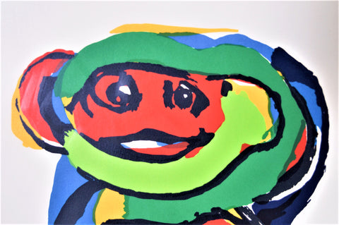 Karel Appel, Silkscreen hand signed edition 36/110