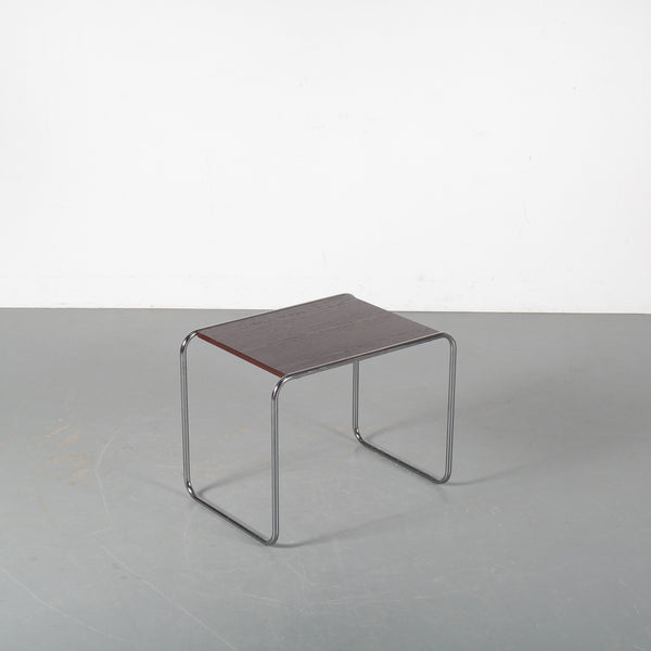 "Tweedehands design Marcel Breuer for Gavin, 1970s Model ""B9"" side table, Italy"