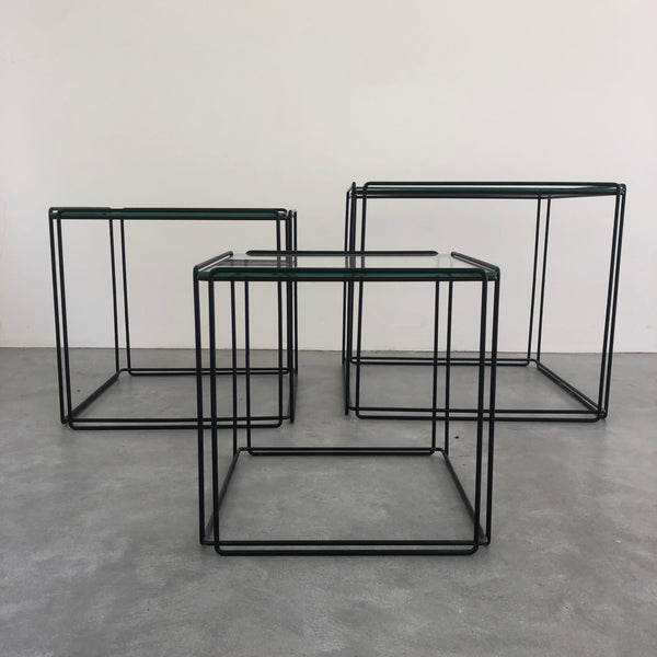 Tweedehands design Max Sauze Isocele nesting tables