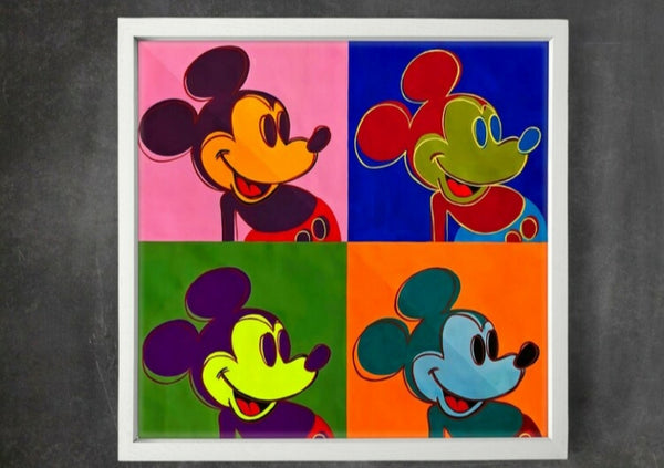 Tweedehands design Mickey Mouse, Andy Warhol 1962