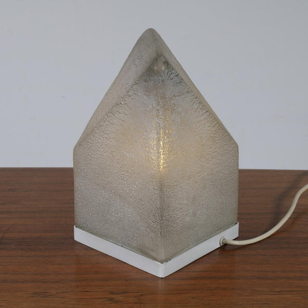 Tweedehands design Murano Glass Table Lamp by Alfredo Barbini, Italy, 1970