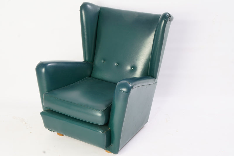 Tweedehands design Oorfauteuil Vintage