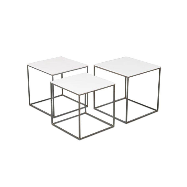 Tweedehands design Poul Kjaerholm PK71 Nesting Tables, Denmark, 1960