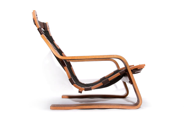 Tweedehands design Rare Brutalist Vintage Lounge Chair