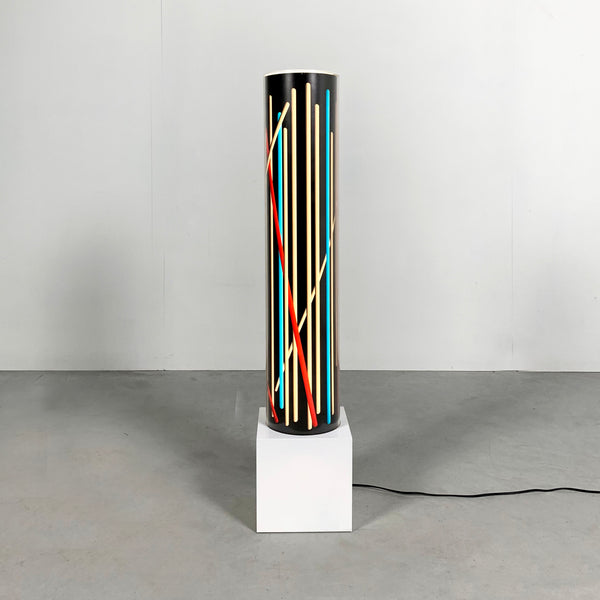 Tweedehands design Riccardo Di Mauro, Floor Lamp Neon Effect