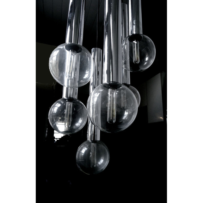 Tweedehands design Staff, Sputnik Chandelier