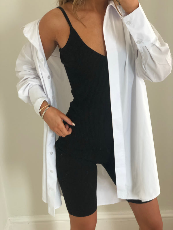 Rhi Playsuit - Black