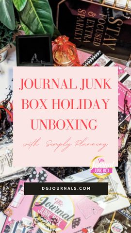 Journal Junk Box Holiday Unboxing