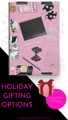 Journal Junk Box Holiday Gift Subscription