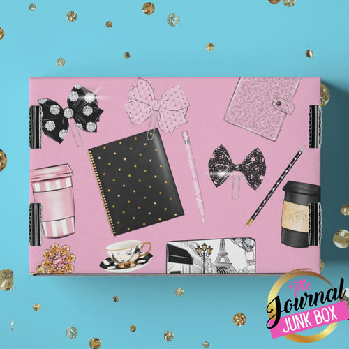 Journal Junk Monthly Subscription Box - Yearly Option (Subscribe Yearly & Get 1 Month Free - Shipping Included!) - The Dallas Gordon Collection