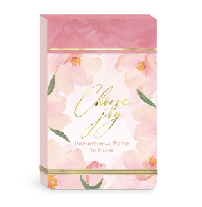 Choose Joy Floral Notepad - The Dallas Gordon Collection