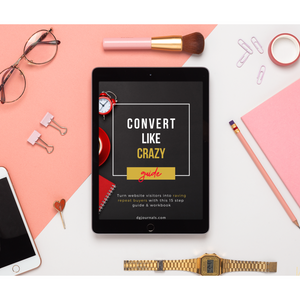 Convert Like Crazy Guide & Workbook - Digital Version - The Dallas Gordon Collection