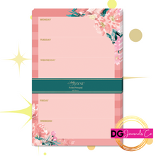 Load image into Gallery viewer, Floral and Foil Notepad - The Dallas Gordon Collection