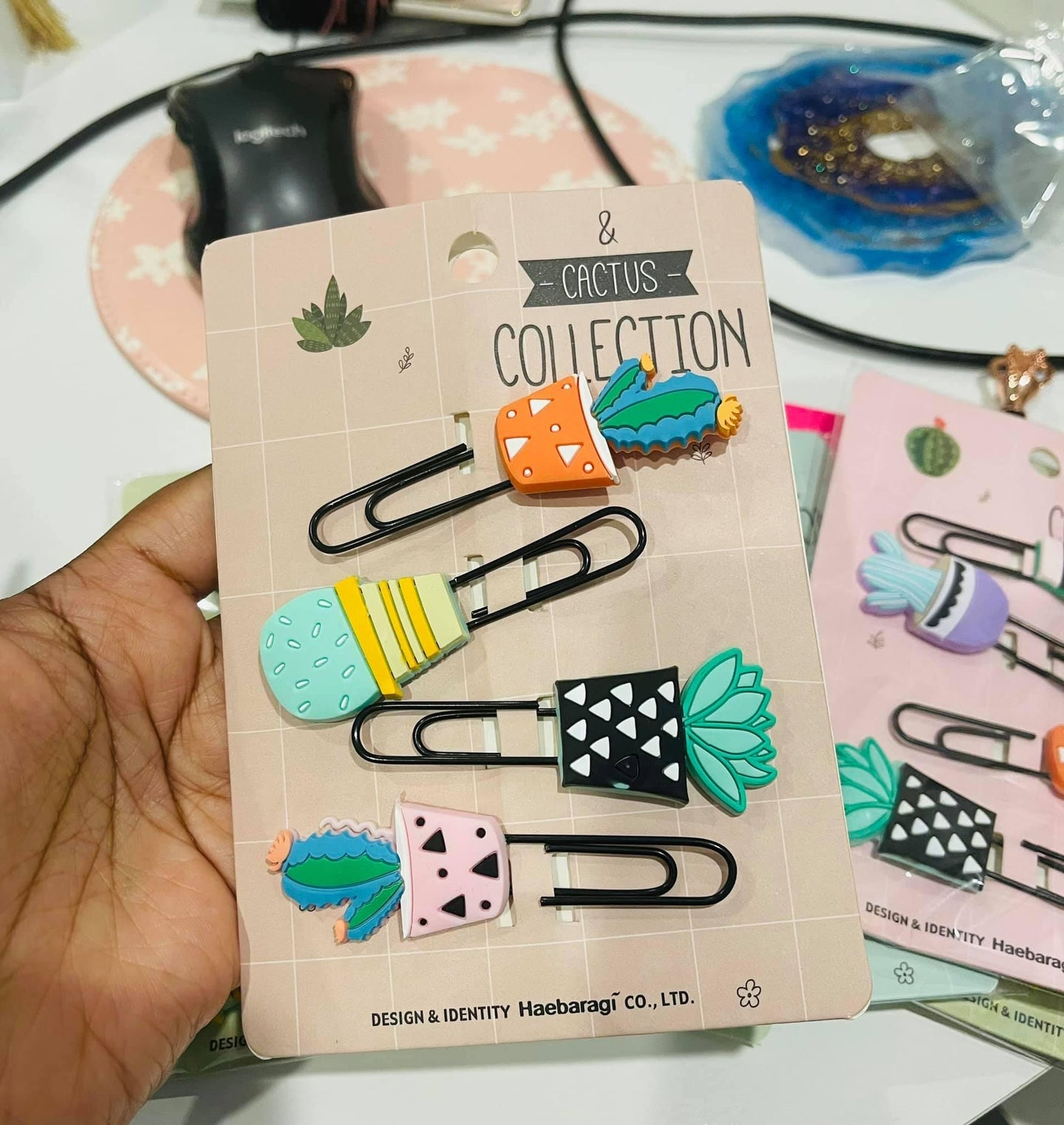 Plants Paper/Planner Clip Set of 4 - Assorted - The Dallas Gordon Collection