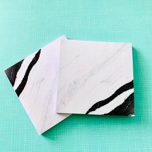 Journal Collection - Marble Sticky Notes - Style 2 - The Dallas Gordon Collection
