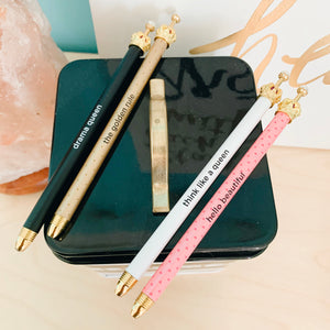 Drama Queen Pen Set of 4 - The Dallas Gordon Collection