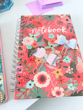 Load image into Gallery viewer, Secret Garden - Flower Print Spiral Notebook - The Dallas Gordon Collection