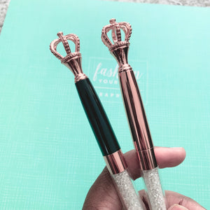Royal - Crown Ballpoint Pen Set - The Dallas Gordon Collection